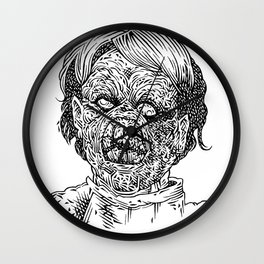 Evil Ed Wall Clock