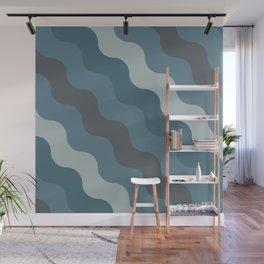 Blueprint Pattern N1 Wall Mural