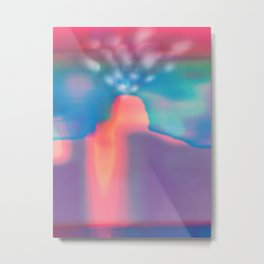 Volcanic Eruption Metal Print
