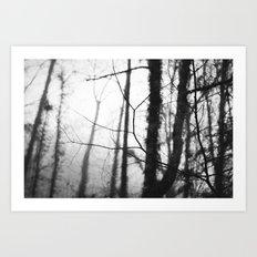 Quiet Rain II Art Print