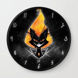 NightmareNetty (Galaxy) Wall Clock