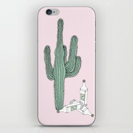 Cactus and Tequila iPhone Skin