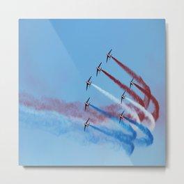 aircraft accuracy flight military Metal Print