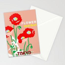 Flower Market Tokyo Stationery Cards