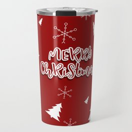 New Year, Christmas, winter holidays illustration Travel Mug