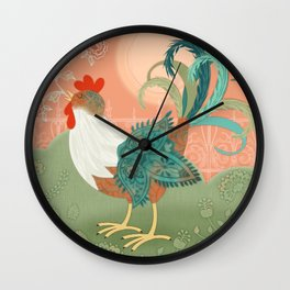 I've Got To Crow Wall Clock
