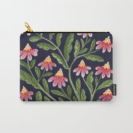 The Red Flowers Carry-All Pouch