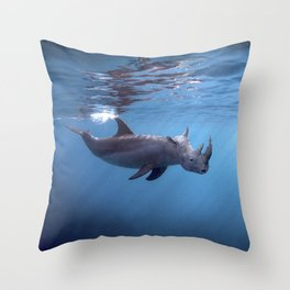 Searhino Throw Pillow