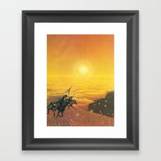 The Wild West Guide To The Galaxy #223 Framed Art Print