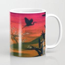 Oriental Sunset Coffee Mug