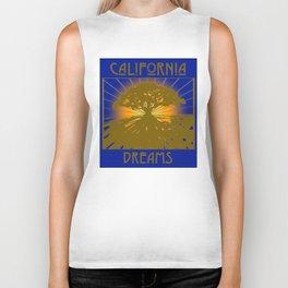 California Dreams Biker Tank