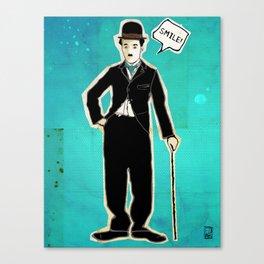 The Tramp/Charlie Chaplin Canvas Print