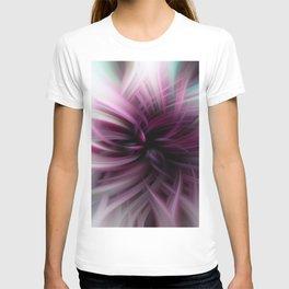 Abstract Purple Lotus T-shirt