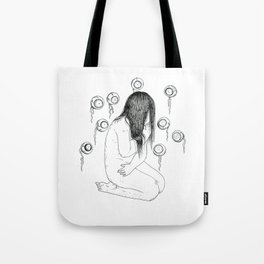 Nightmare nudity Tote Bag
