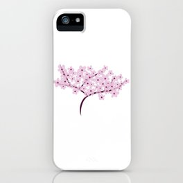 Cherry Blossom Flowers Tree iPhone Case