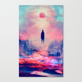Floating Shadow Canvas Print