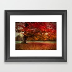 Finest fall Framed Art Print