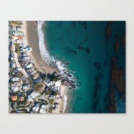 Zuma Beach Coast Canvas Print