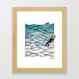Pia Opfermann/ Jonas Claesson Collab Framed Art Print