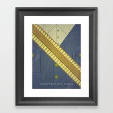 Video Game Poster: Cowboy Framed Art Print