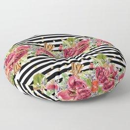 Elegant Christmas - apple, cinnamon & rose Floor Pillow