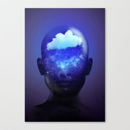 Clouded Memory Canvas Print