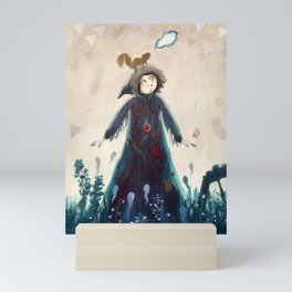 Declaration of winter Mini Art Print