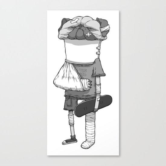 That pug. Canvas Print