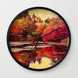 A Feeling of Warmth Wall Clock