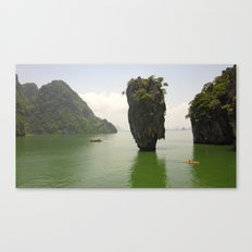 Where James Bond Parties Canvas Print