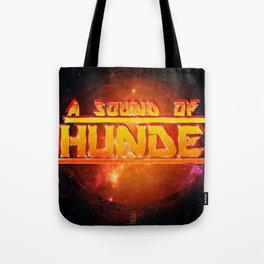 A Sound of Thunder Fire Planet Tote Bag