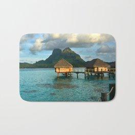Bora Bora Tahiti Bungalow 2 Bath Mat