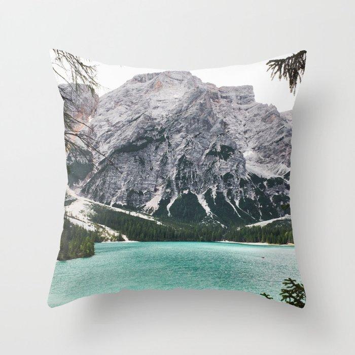 Glacial Heaven Throw Pillow