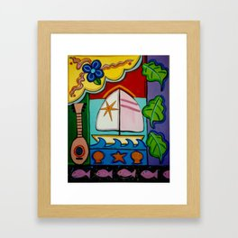 The Wind in your Sails Framed Art Print