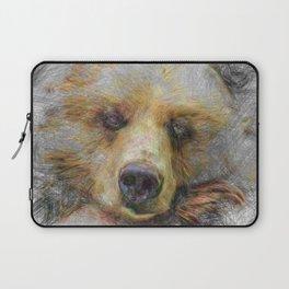 Artistic Animal Baer Laptop Sleeve