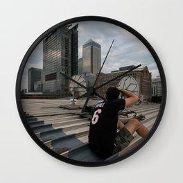 London, Canary Wharf Wall Clock