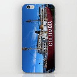 Fireship Columbia iPhone Skin