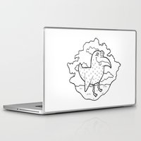 kevin russ Laptop & iPad Skins featuring Bird Stuff by Kevin Berquist by UCO Design