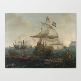 Vroom Hendrick Cornelisz Canvas Print