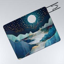 Moon Glow Picnic Blanket