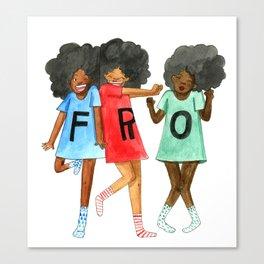 F.R.O. Canvas Print