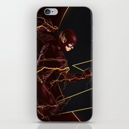 The Flash triptych FLASH iPhone Skin