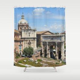 Roman Forum (Rome, Italy) Shower Curtain