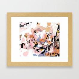 Atomic Age Milkshake Framed Art Print