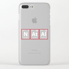 Natal Periodic Elements Spelling Clear iPhone Case