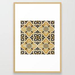 Ornamental pattern Framed Art Print