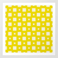 Nassau Yellow Art Print