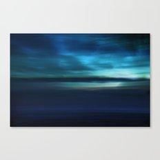 Blue Landscape Canvas Print