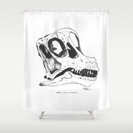 Here, Now, Forever Shower Curtain
