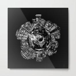 Around City of Lights - geometric Metal Print